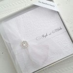 EMBOSSED BOXED POCKET INVITATION